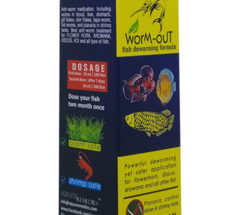 Worm Out Fish Deworming Medicine